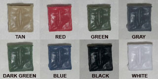 empty ammo pouch colors