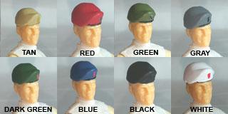 Headgear: Beret colors