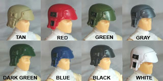 Headgear: Armor Helmet colors